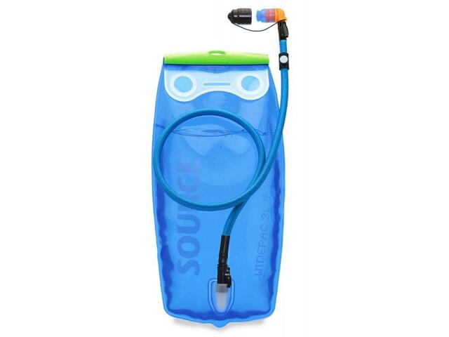 SOURCE Ultimate Sistema de hidratación Botella 2L, transparent-blue